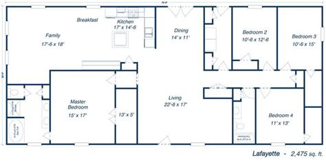 metal house floor plans metal 40x60 homes floor plans our steel home floor plans click to view barndominium