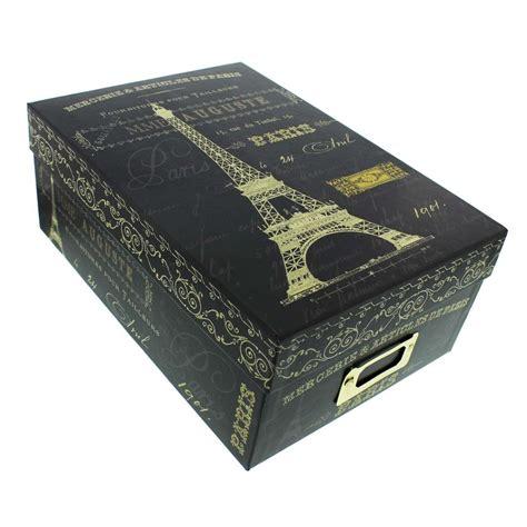 shoe boxes tri coastal design photo storage box shoe box black blue