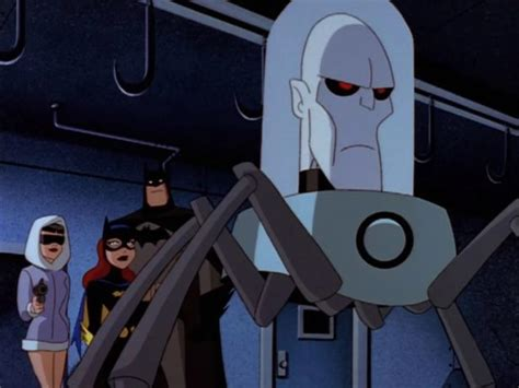 batman cold comfort batman reanimated mr freeze gives some cold comfort