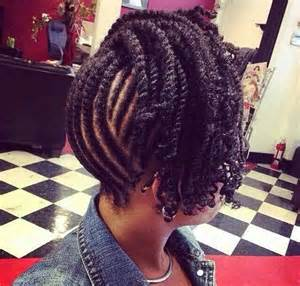 braided pin up hairstyle for black 17 best images about black twist hairstyles on pinterest