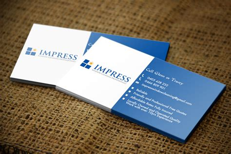 windows business card template window cleaning business card design for a company by