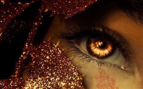 gold eye wallpaper dark horror fantasy art cg digital manip face eyes demon