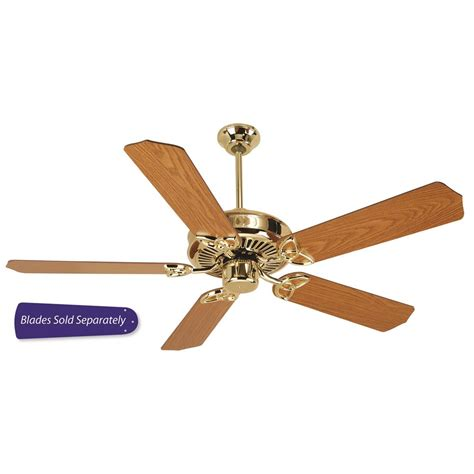 polished brass ceiling fan cxl52pb craftmade cxl52pb cxl 52 quot ceiling fan in