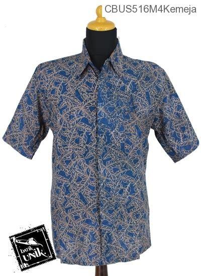Kemeja Batik Pekalongan Motif Daun Merambat sarimbit kemeja motif serat daun kemeja pendek murah