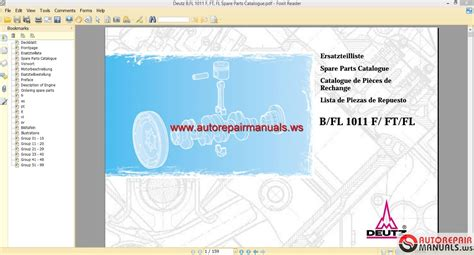 keygen autorepairmanuals ws deutz engines workshop manuals 1986 2011 keygen autorepairmanuals ws deutz b fl 1011 f ft fl spare parts catalogue