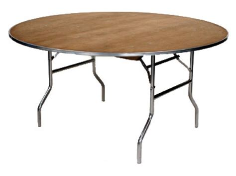 M Series Plywood Round Folding Table 60 Quot Folding Tables