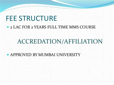 Icfai Mba Distance Learning Fee Structure by Jamnalal Bajaj Institute Of Management Studies Mumbai
