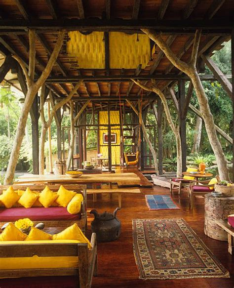 indonesia home decor outdoor living space with traditional style
