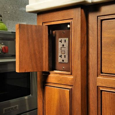 kitchen island outlet ideas 17 best images about kitchen electrical outlets on