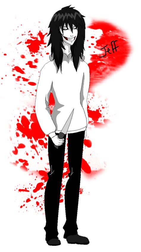 Anime Jeff The Killer by Jeff The Killer Anime By K R O N A H On Deviantart