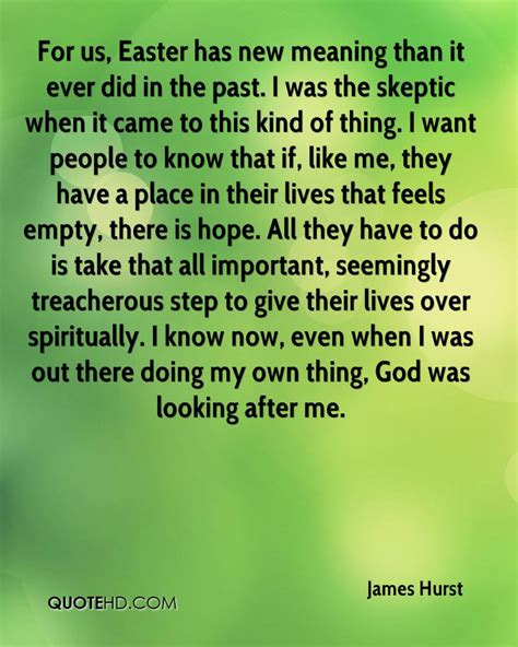 what is significance of easter hurst quotes quotehd