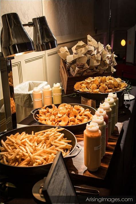 french fry bar toppings truffle fries truffle oil and ketchup on pinterest