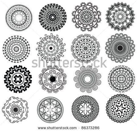 Buff Circle Pattern 2 14 best henna circle images on