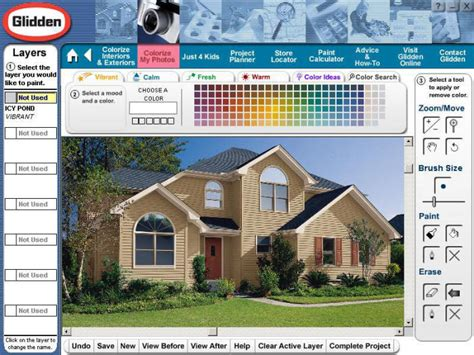 home design visualization software interactive color picker for glidden paint eyemg web