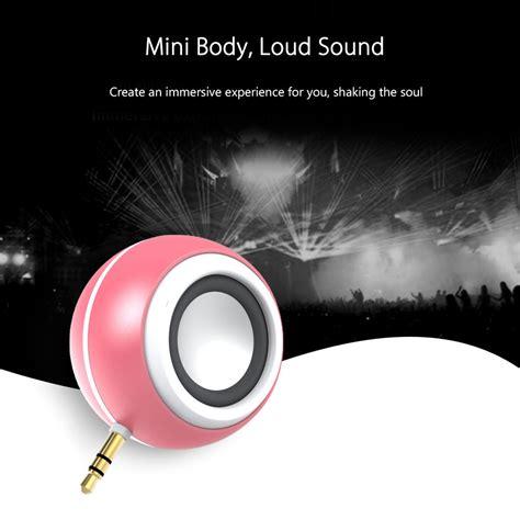 Jual Audio Headphone Mini 2 3 Ori 1 jual 2 in 1 mini 3 5mm headphone audio speaker 8 led