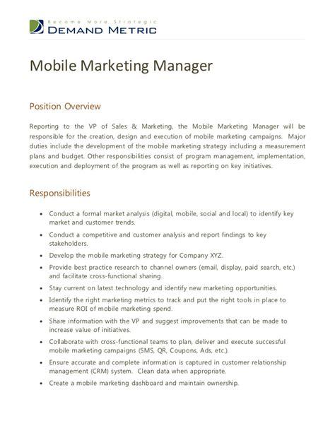 marketing supervisor application letter