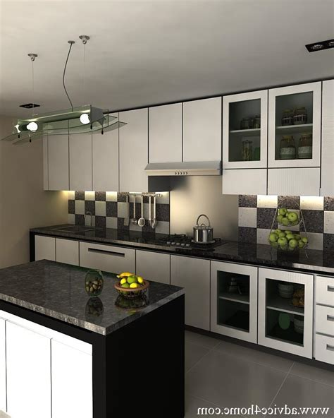Modular Kitchen Designs Black And White - black and white kitchen designs photos
