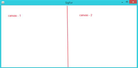 static layout canvas java placing canvas using layout