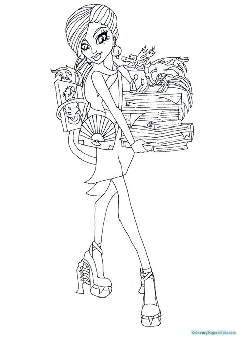 monster high coloring pages 13 wishes gigi monster high coloring pages 13 wishes gigi coloring