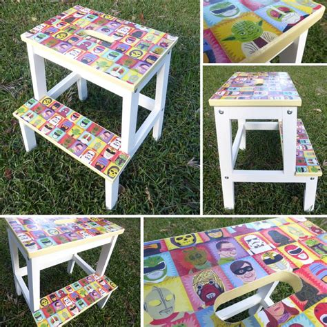 ikea bekvam step stool decorate decorate i customised this ikea bekvam step stool by painting the