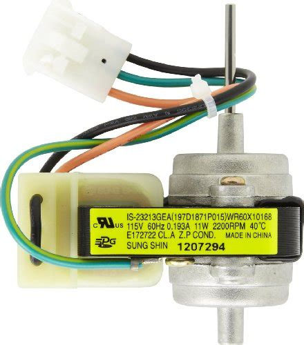 Electric Motor Store by General Electric Wr60x10168 Condenser Motor Electric