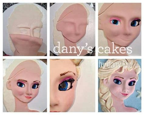 tutorial cara menggambar elsa frozen 1000 images about cake tutorials fondant gumpaste on