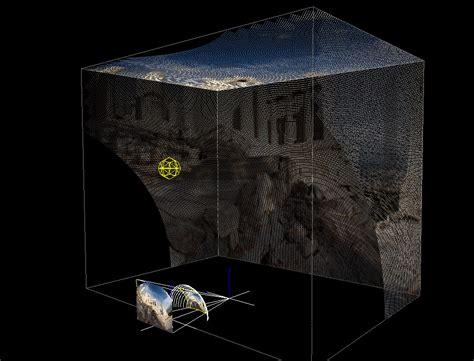 spherical mirror room room projection using spherical mirror