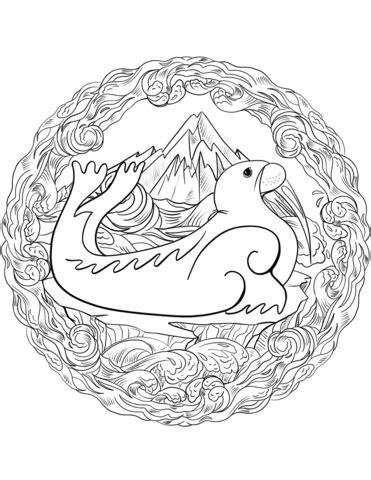 mandala coloring book purpose walrus mandala coloring page free printable coloring pages
