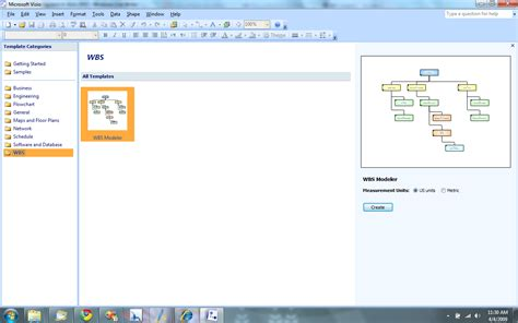 visio 2007 templates creating wbs diagrams in office visio 2007 redmond pie