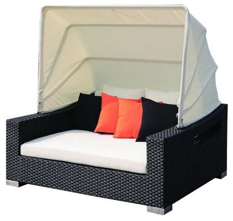 outdoor loveseat with canopy patio day bed with canopy contemporary outdoor sofas