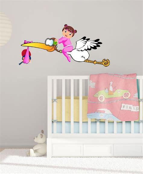 Aufkleber Von Holz Entfernen So Klappt S by Xxl Baby Storch Sticker Tischtennis M 228 Dchen Rosa Windel
