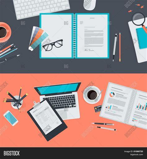 Set flat design illustration vector amp photo bigstock
