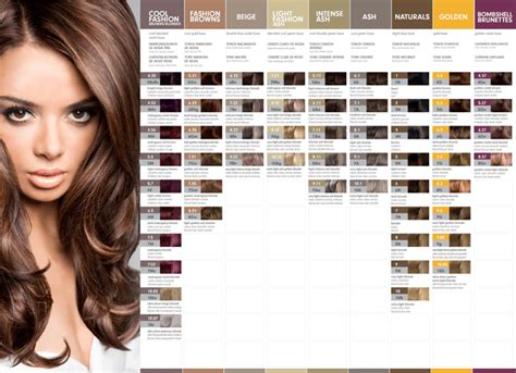 latest hairstyles color chart 100 hair dye colors chart for home boyan hair color
