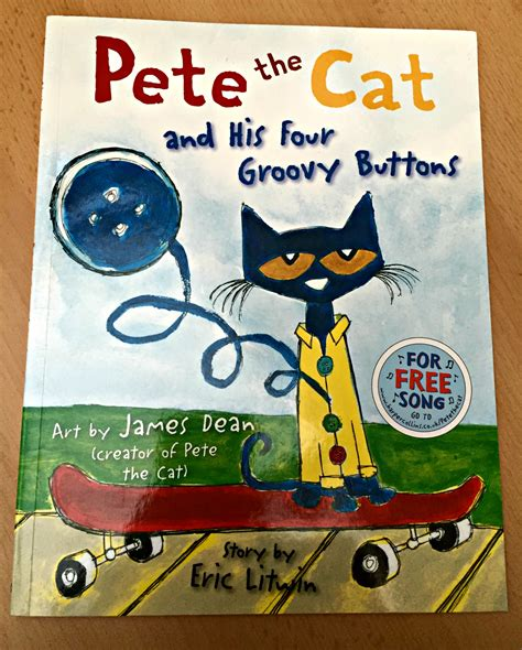 Pete The Cat Groovy Buttons children s book review pete the cat and his four groovy