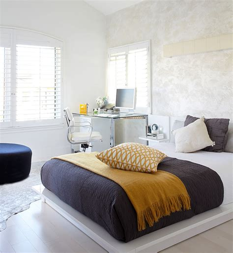 in the bedroom 25 creative bedroom workspaces with style and practicality