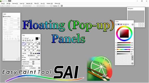 paint tool sai duplicate folder how to obtain floating panels paint tool sai