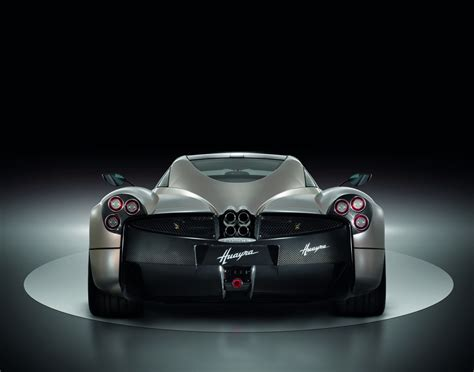 pagani back pagani huayra officially revealed