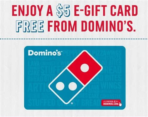 Dominoes Gift Card - free 5 domino s gift card sweetfreestuff com