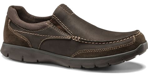dockers suitland slip on in brown for brown lyst