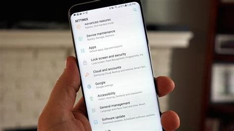 network reset on s8 how to use samsung galaxy s8 s always on display