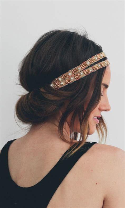hair tutorial headband tuck treasures travels top 5 pins hot weather hairstyles hellosociety blog