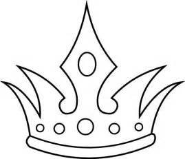 queen crown coloring page free clipart best