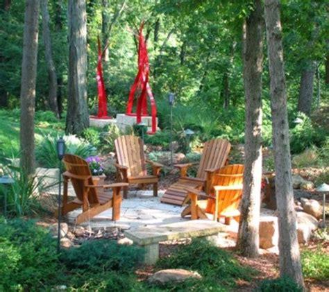 Rustic Backyard Ideas by 57 Cozy Rustic Patio Designs Digsdigs