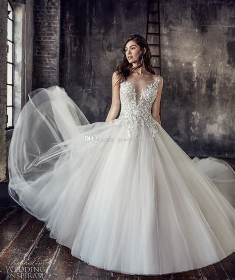 Wedding Dresses Skirt by Whimsical Tulle Skirt Wedding Dress Style Mikaella Bridal