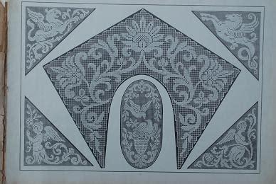 antique pattern library hardanger apl filet ancien iv