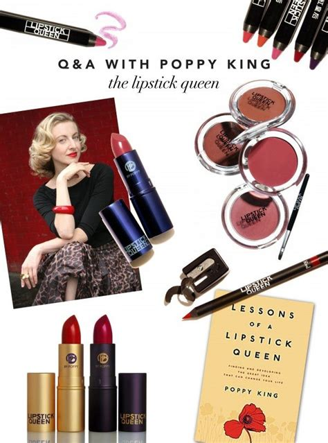 Interviews Poppy King Aka Lipstick by Q A Poppy King Quot The Lipstick Quot Glitter Guide