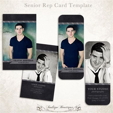 free rep card photoshop template millers senior rep card template for photographers millers and