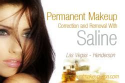 saline solution tattoo removal new permanent makeup correction with las vegas salt