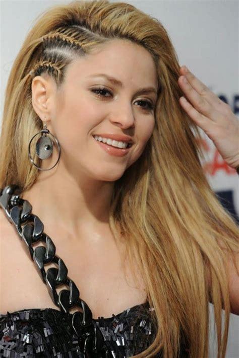 shakira hairstyles hairstyle sidecut vs sidebraid 171 171 171 hairstyles braids