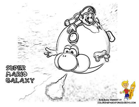 free coloring pages of mario birthday card